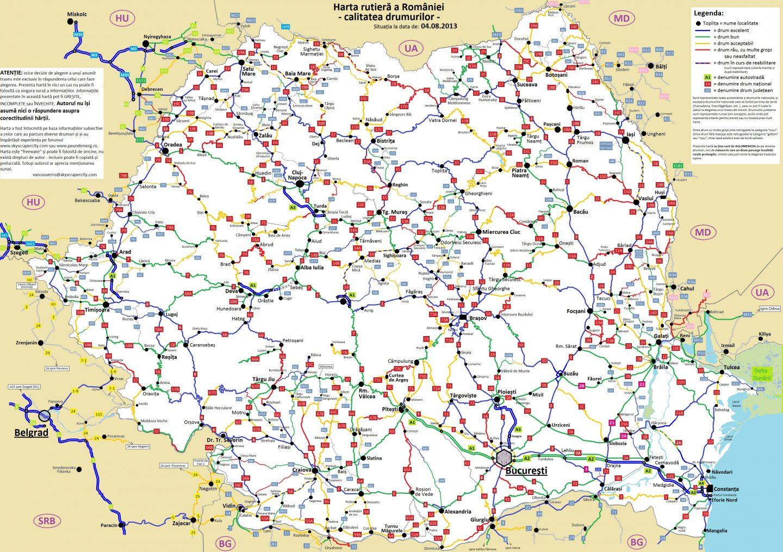 Vezi Situaţia Drumurilor Naţionale In Timp Real Furnizată De