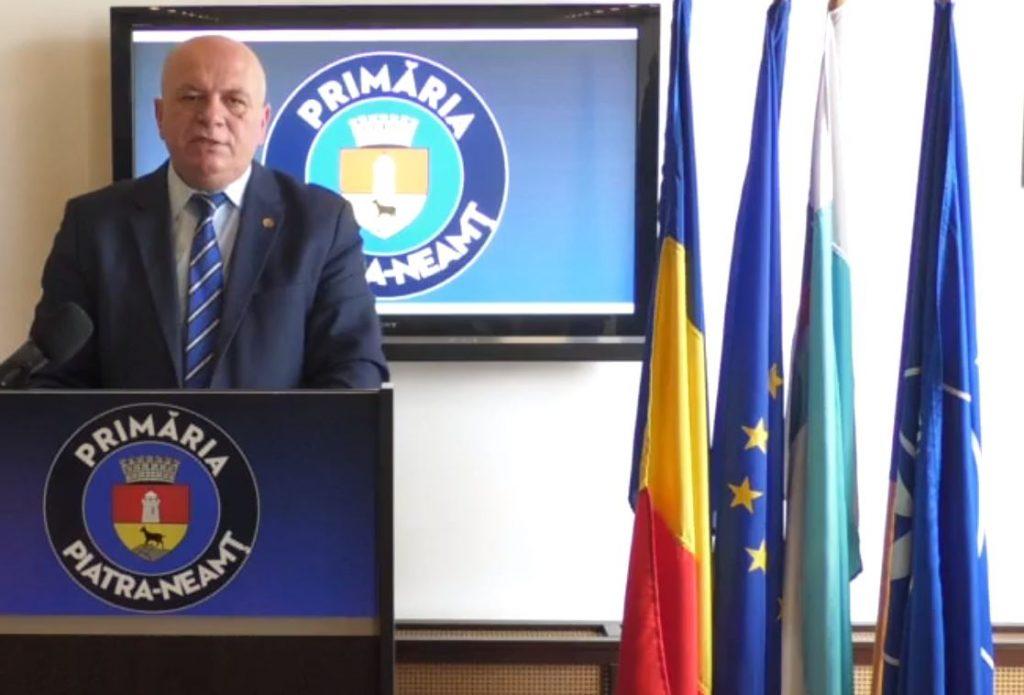 Conferința de Presă susținută de domnul primar al Municipiului Piatra Neamț, domnul Dragoș Chitic, astăzi, 27 mai 2020