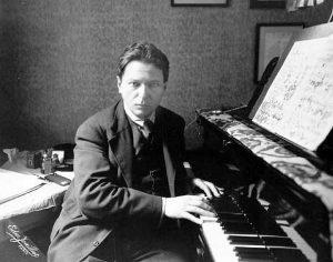 George Enescu, compozitor, violonist, pianist, dirijor şi pedagog