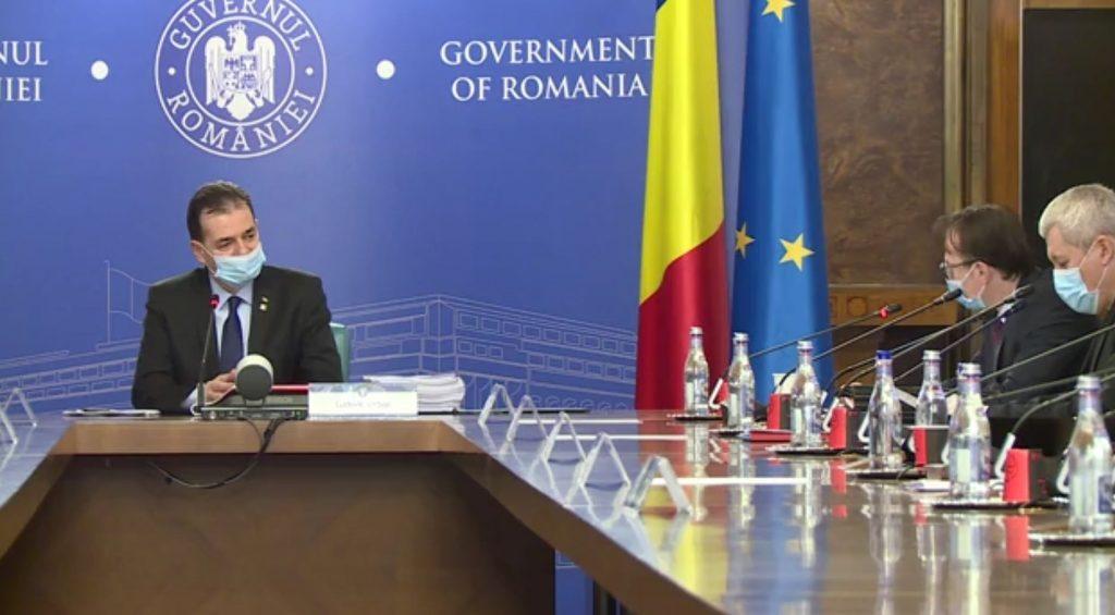Premierul Ludovic Orban - urgentarea procedurii de licitație în vederea finalizarii achiziției de măști de protecție pentru elevi si persoanele defavorizate