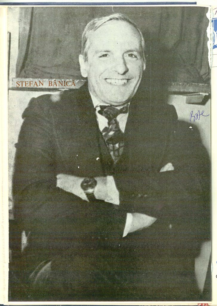 Actorul Ştefan Bănică s-a născut la 11 noiembrie 1933, în localitatea Călăraşi și a murit la 26 mai 1995, la București