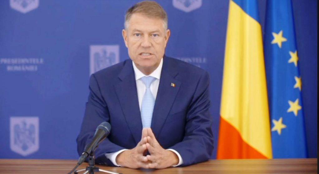 (Video) Declarația de presă a domnului Președinte al României, Klaus Iohannis