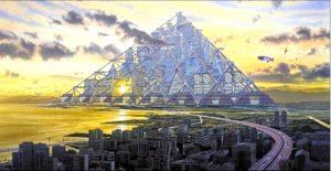 Inginerii japoneze: orașul piramidă