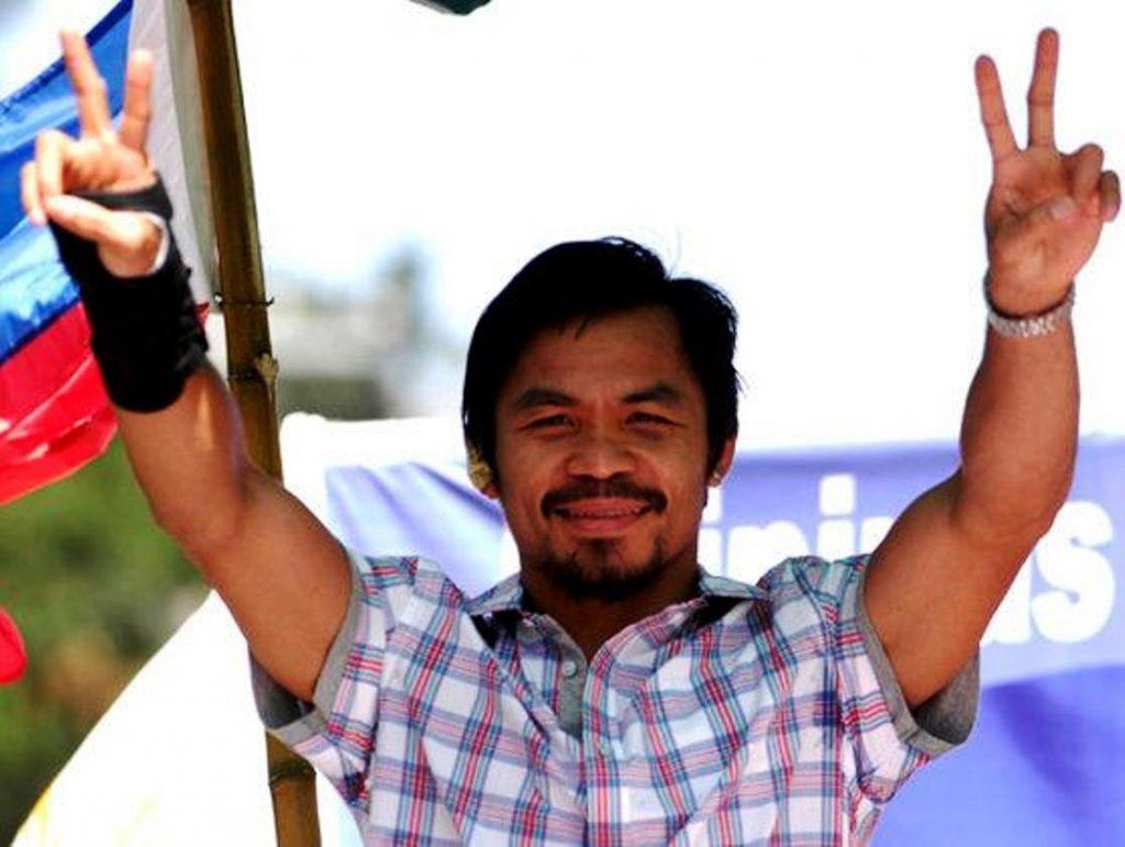 Legendarul boxer Manny Pacquiao și-a anunțat candidatura la alegerile prezidențiale din Filipine